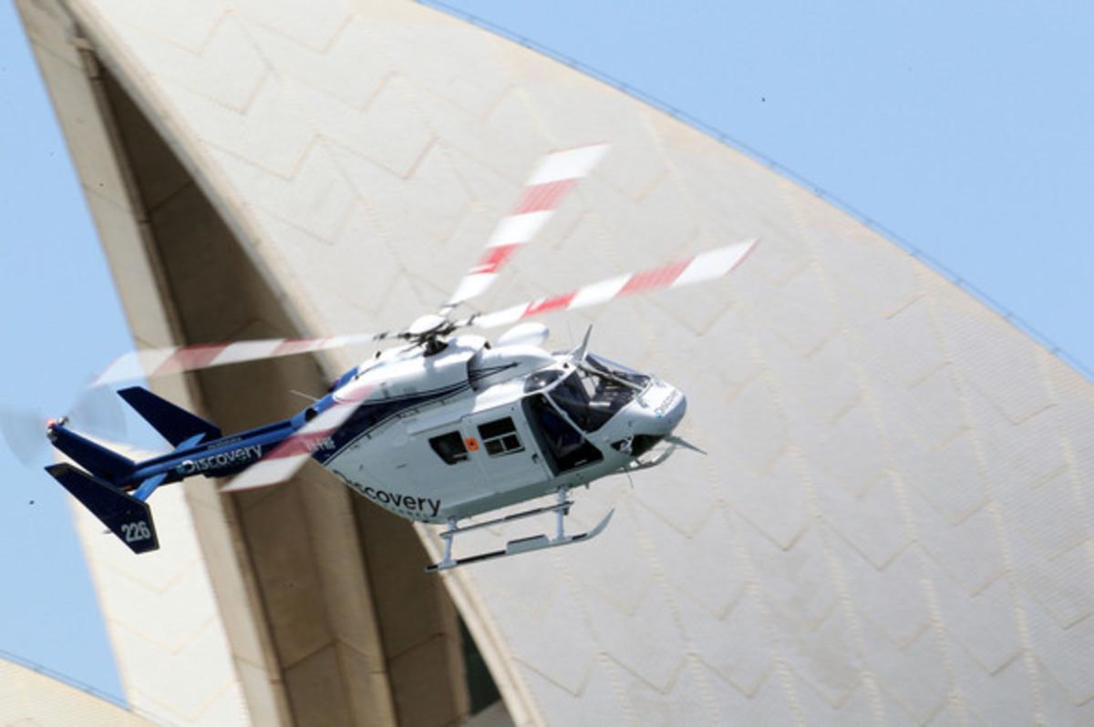Έπεσε ελικόπτερο του Discovery Channel κατά τη διάρκεια γυρισμάτων | Newsit.gr