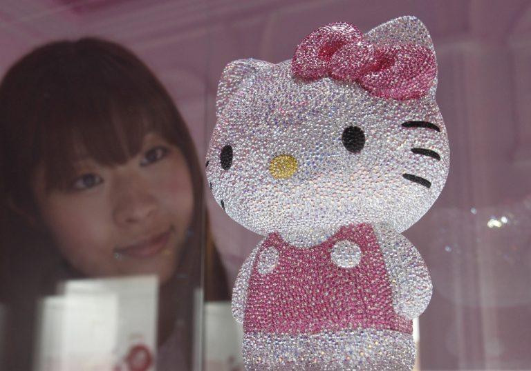 Η Hello Kitty ζει το τσουνάμι!   Newsit.gr