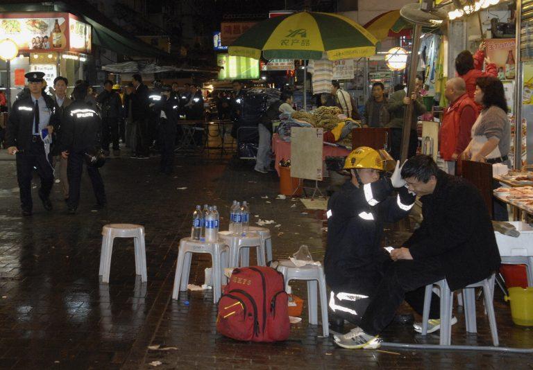 Επίθεση με οξύ στο Χονγκ Κονγκ | Newsit.gr