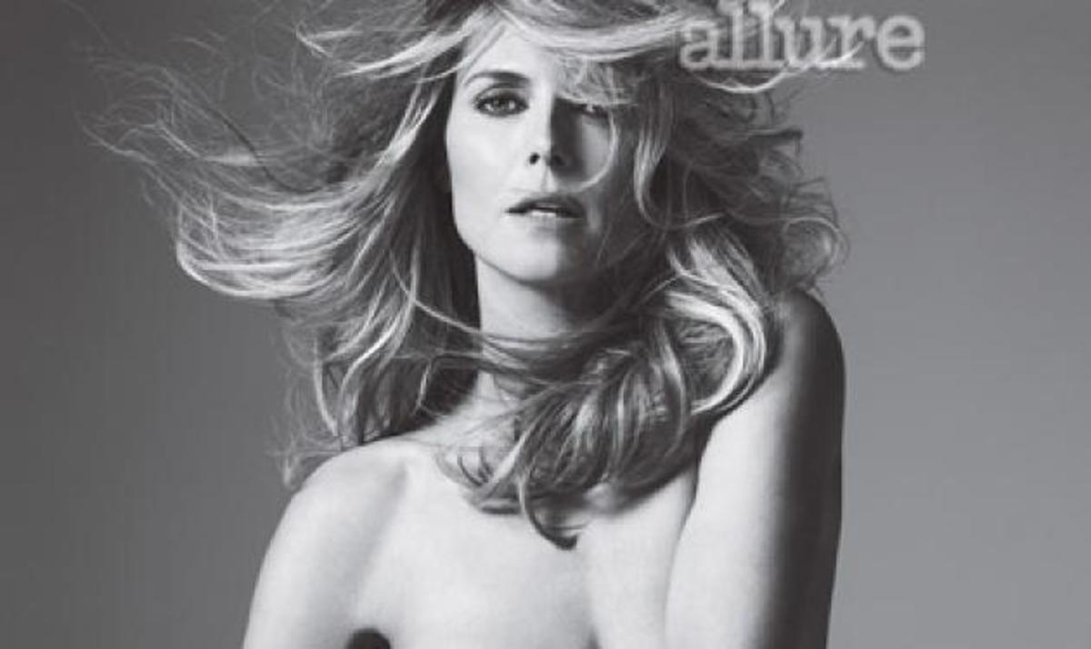 Η Heidi Klum  ποζάρει γυμνή και μιλάει για τον δύσκολο χωρισμό της από τον Seal! | Newsit.gr