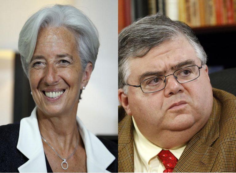 Λαγκάρντ εναντίον Κάρστενς για το ΔΝΤ!   Newsit.gr