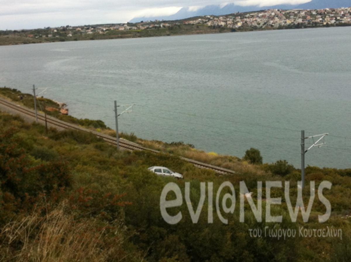 Εύβοια: Διάσωση οδηγού που κόβει την ανάσα – Δείτε φωτογραφίες! | Newsit.gr