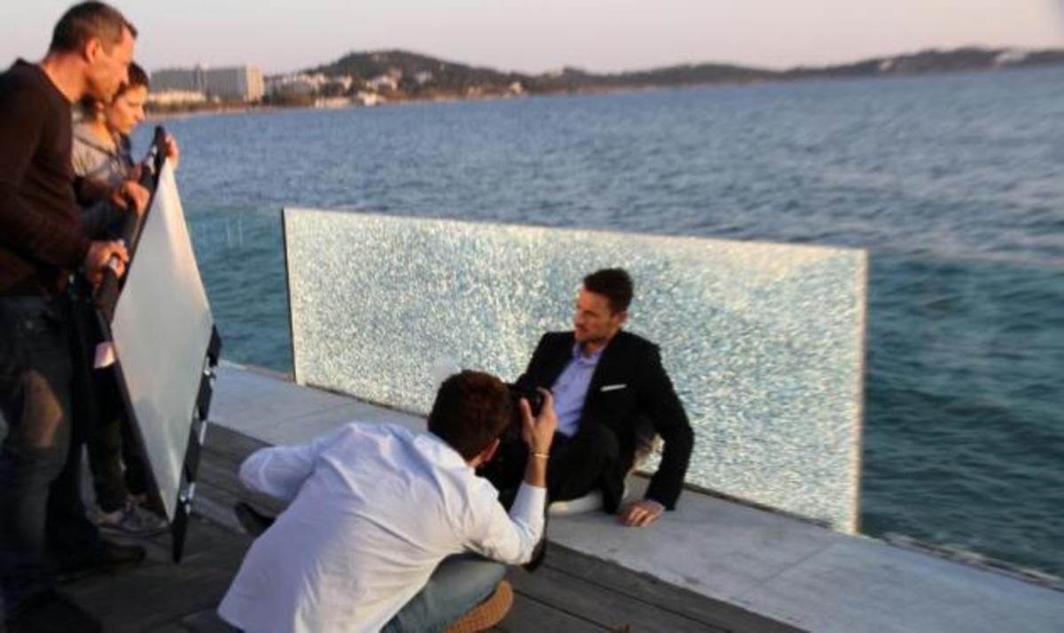 Backstage από τη φωτογράφιση του Ν. Βέρτη!   Newsit.gr