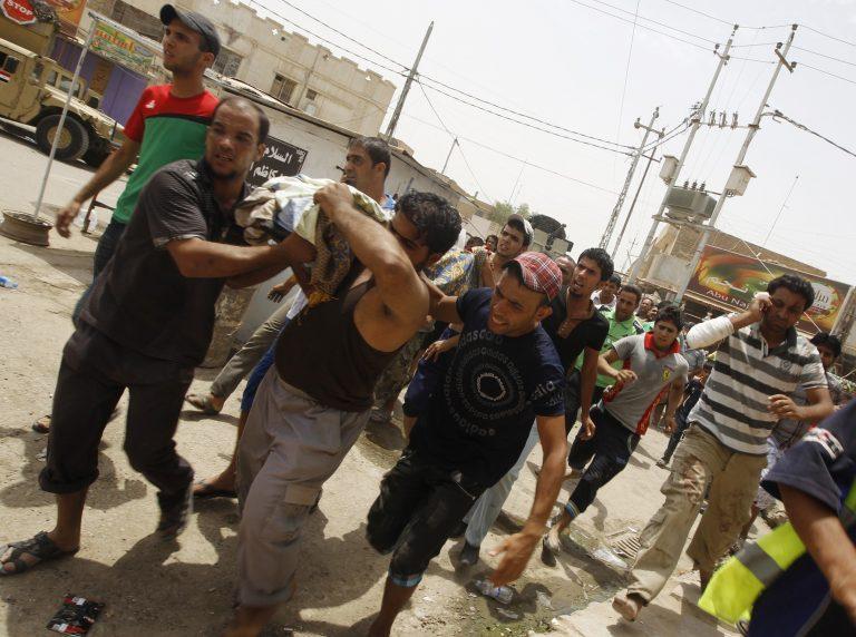 7 νεκροί και 30 τραυματίες σε επεισόδια στη Βαγδάτη | Newsit.gr