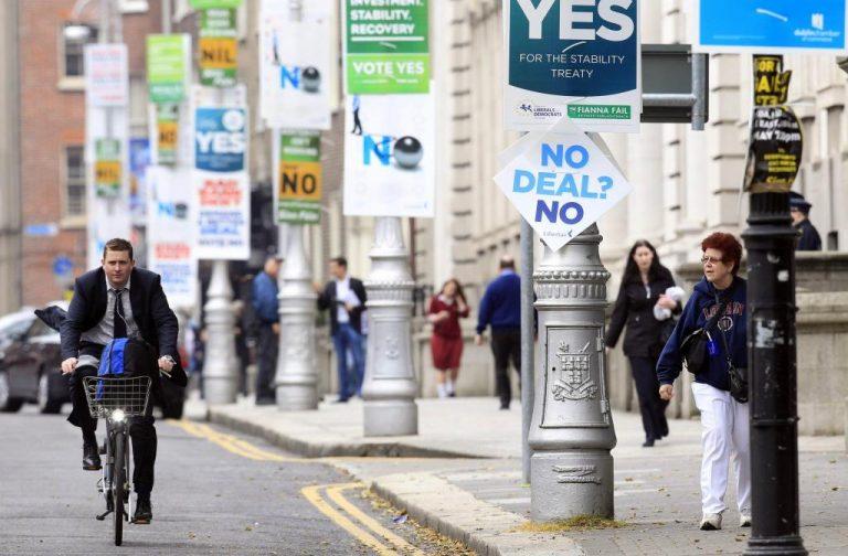 Στην κάλπη οι Ιρλανδοί για το δημοσιονομικό σύμφωνο της ΕΕ   Newsit.gr