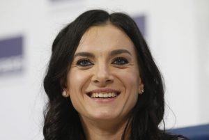 Η Ισινμπάγεβα μέλος του εποπτικού συμβουλίου του RUSADA