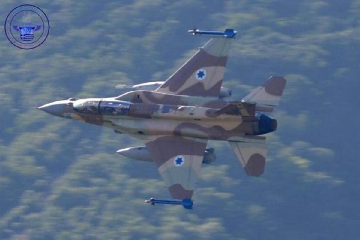 Ισραηλινά F 16 εν δράσει στην Ελλάδα. Φωτογραφίες στον αέρα! | Newsit.gr