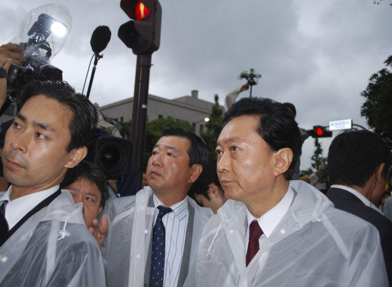 Ο πρώην πρωθυπουργός της Ιαπωνίας διαδηλώνει κατά των πυρηνικών σταθμών | Newsit.gr