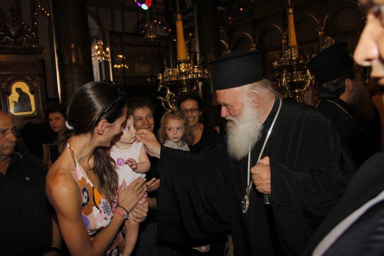 """Αρχιεπίσκοπος: """"Οι ξένοι πάντα κοίταγαν τα δικά τους συμφέροντα""""   Newsit.gr"""