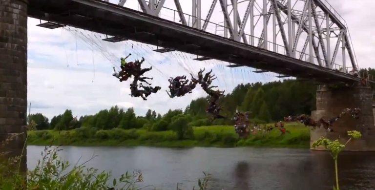 Είναι τρελοί αυτοί οι Ρώσοι! Bungee jumping για… 135! (VIDEO) | Newsit.gr