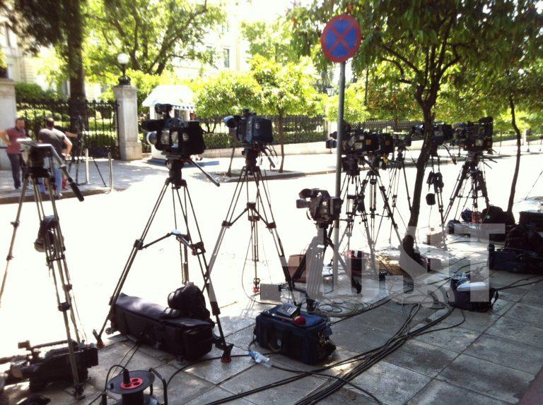 «Πλημμύρισε» το Προεδρικό από Ελληνες και ξένους δημοσιογράφους | Newsit.gr