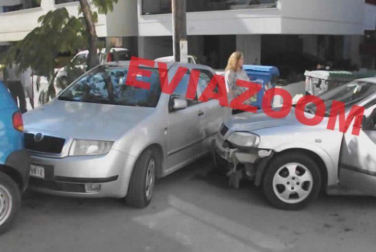 Χαλκίδα: Τροχαίο με 4 αυτοκίνητα – ΦΩΤΟ | Newsit.gr