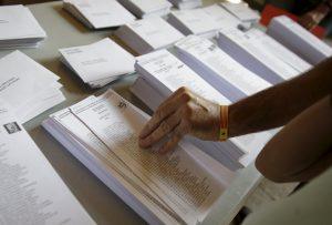 """Καταλονία: Ανεξαρτησία """"δείχνουν"""" τα exit polls"""