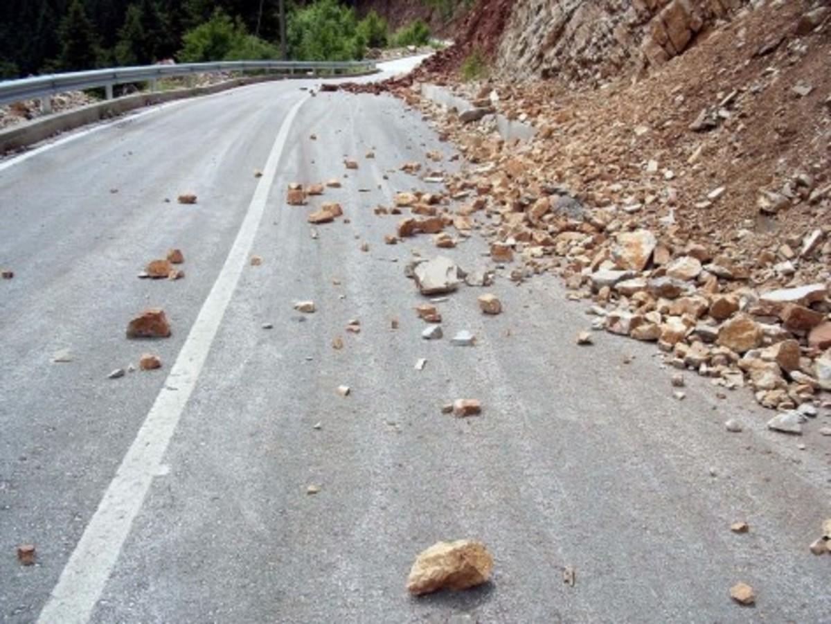 Κατολίσθηση στην Εγνατία οδό – Που υπάρχει πρόβλημα | Newsit.gr