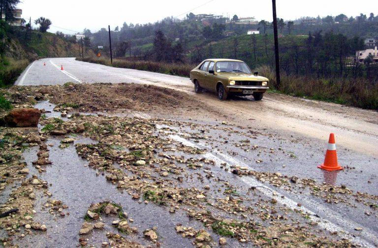 Χαλκιδική: Κατολισθήσεις και διακοπές κυκλοφορίας | Newsit.gr