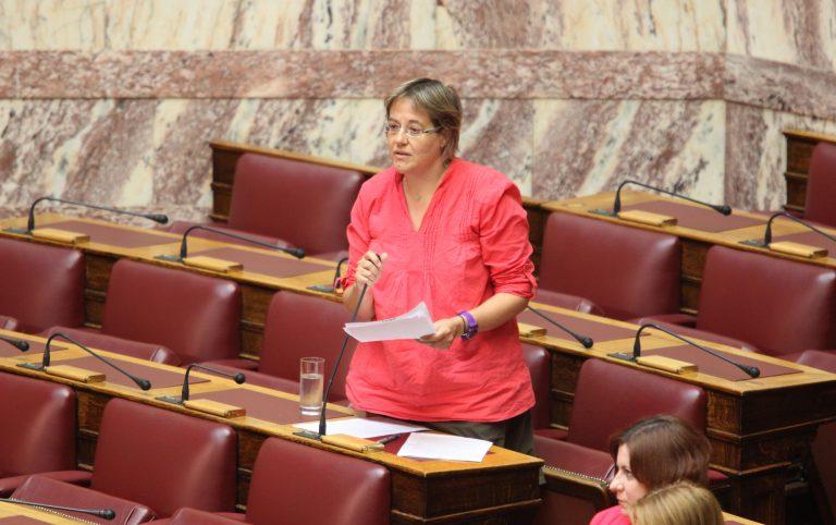 Βουλή: Η Κυρία με το παλτό και ο Κύριος με το κοστούμι | Newsit.gr