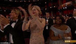 Oscar 2017: Πήρε φωτιά το Twitter για το χειροκρότημα φώκιας της Νικόλ Κίντμαν! [vid]