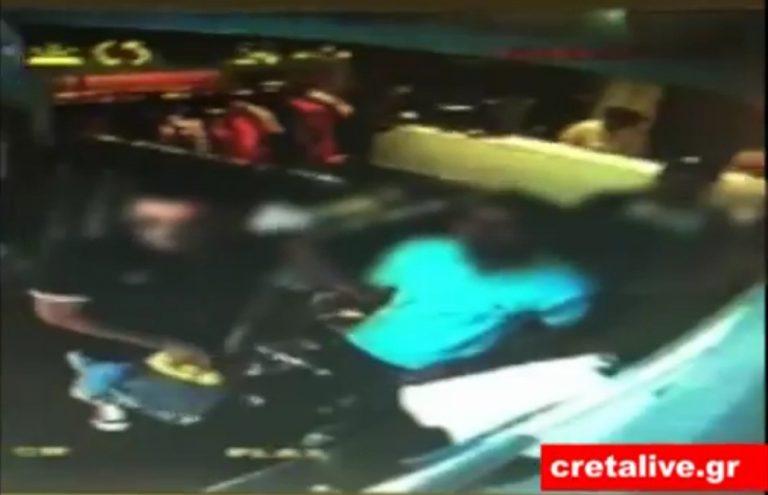 Ηράκλειο: Εκείνοι έκλεβαν και η κάμερα κατέγραφε – Δείτε το ΒΙΝΤΕΟ | Newsit.gr