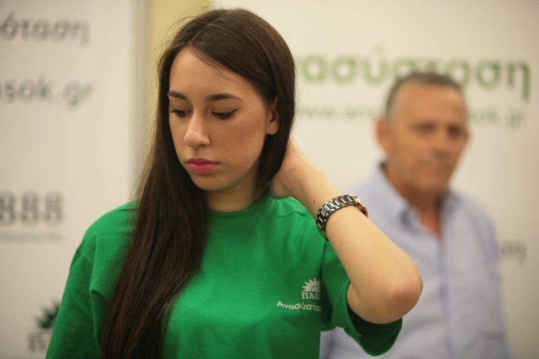Το κορίτσι που έκλεψε τις καρδιές όλου του ΠΑΣΟΚ   Newsit.gr