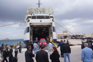 Κάσος: Προσέκρουσε στο λιμάνι το «Βιτσέντζος Κορνάρος» – Λαχτάρα για 232 επιβάτες!