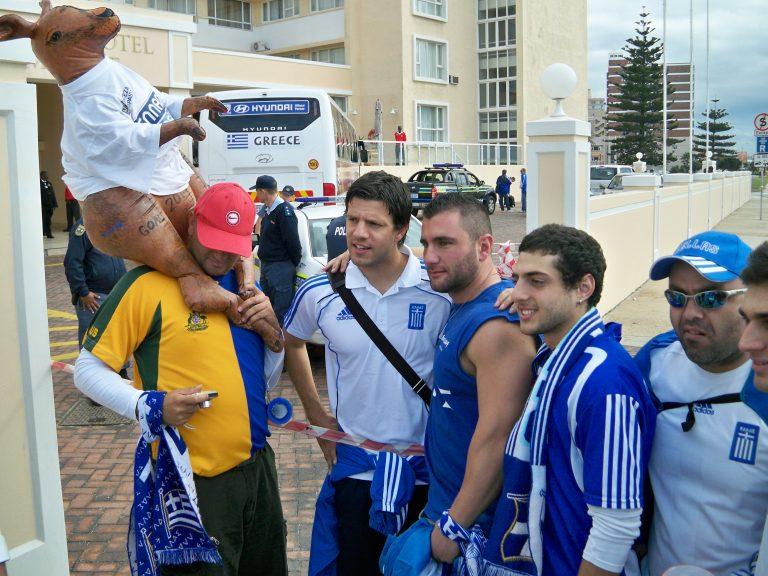 Αποθεώθηκαν οι διεθνείς στο Πορτ Ελίζαμπεθ | Newsit.gr