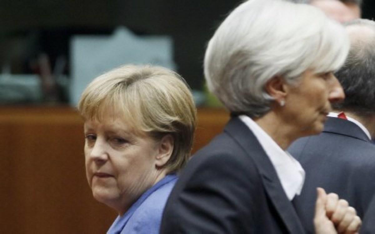 Κρίσιμη συνάντηση Μέρκελ Λαγκάρντ με θέμα την Ελλάδα   Newsit.gr
