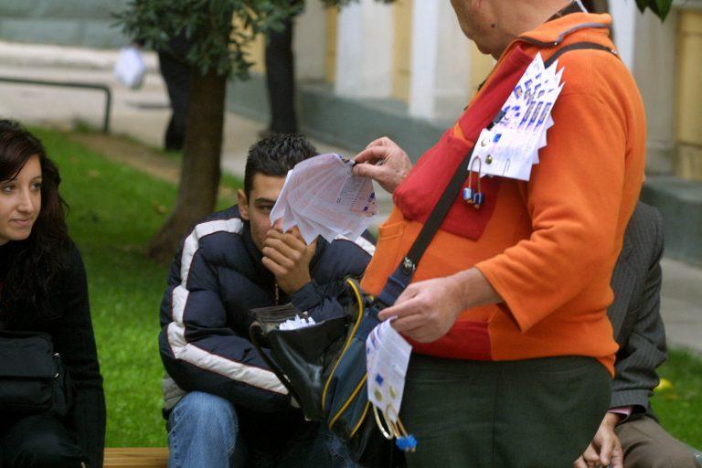 Πήρε και τα λαχεία ο ληστής | Newsit.gr