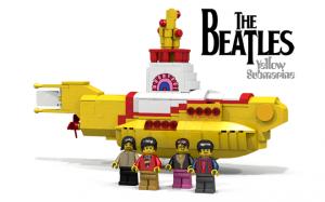 Lego γίνεται το κίτρινο υποβρύχιο των Beatles