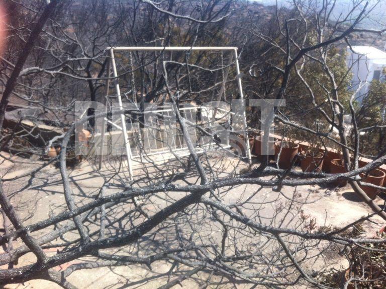 Σε ύφεση οι φωτιές στην Αττική και στην Κόρινθο | Newsit.gr