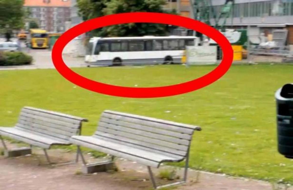 ΑΠΙΣΤΕΥΤΟ! Δείτε προσεκτικά τι θα συμβεί στο λεωφορείο! | Newsit.gr