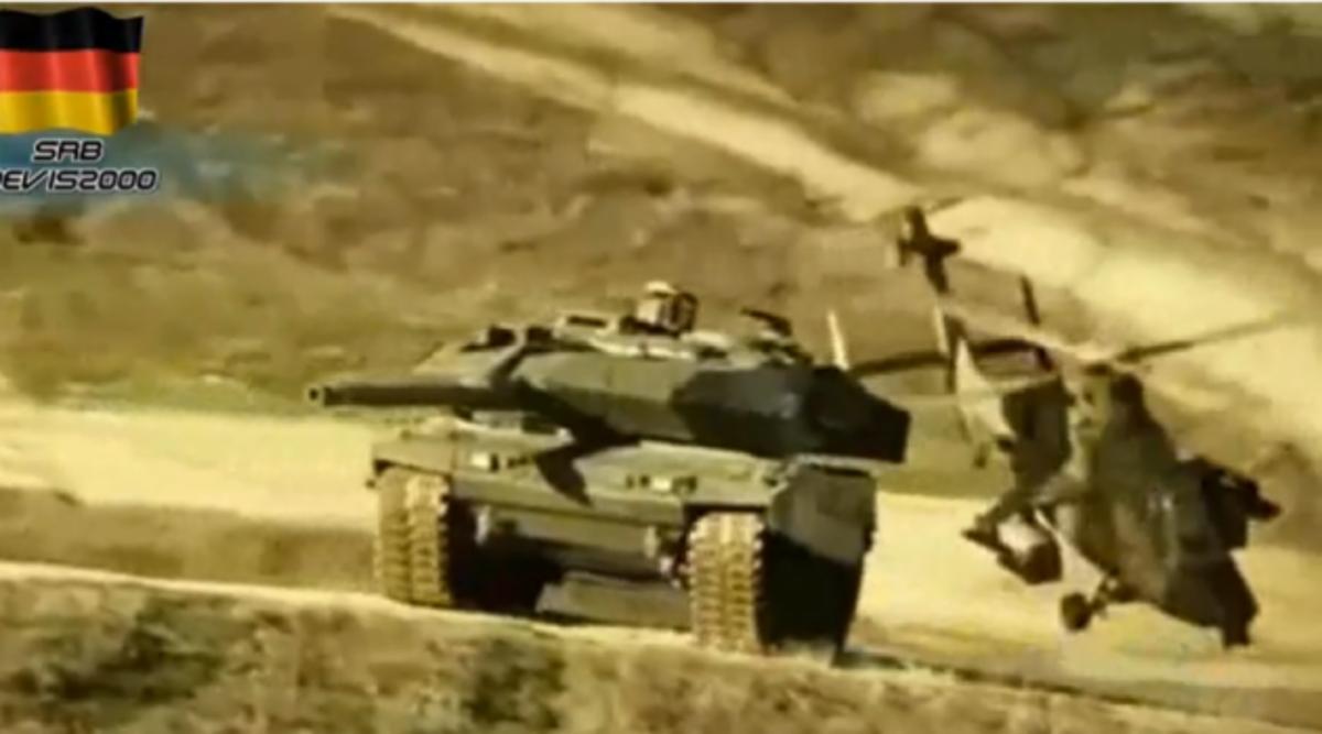 Leopard σε δράση – Ένα εκπληκτικό βίντεο των Γερμανών | Newsit.gr