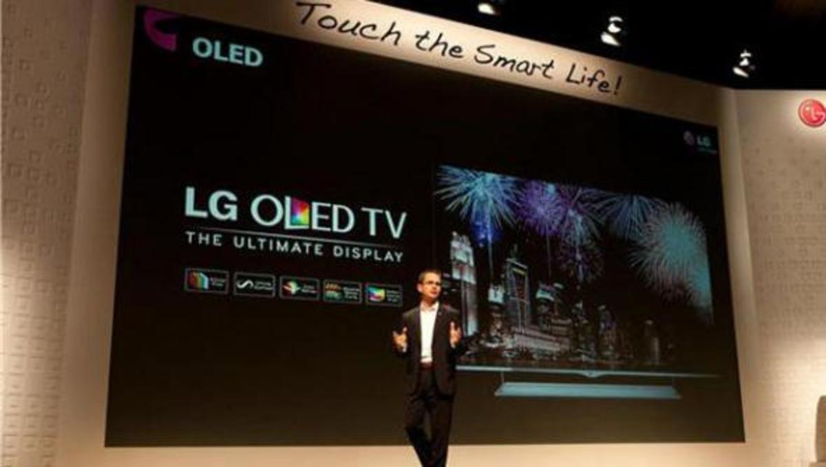 CES 2013: Αυτή είναι η νέα OLED Tv της LG   Newsit.gr