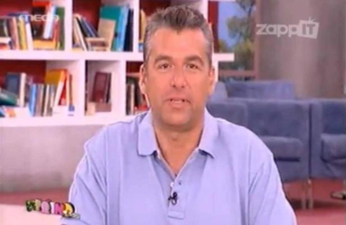Ο Γιώργος Λιάγκας μίλησε για το τέλος του Πρωινό mou | Newsit.gr