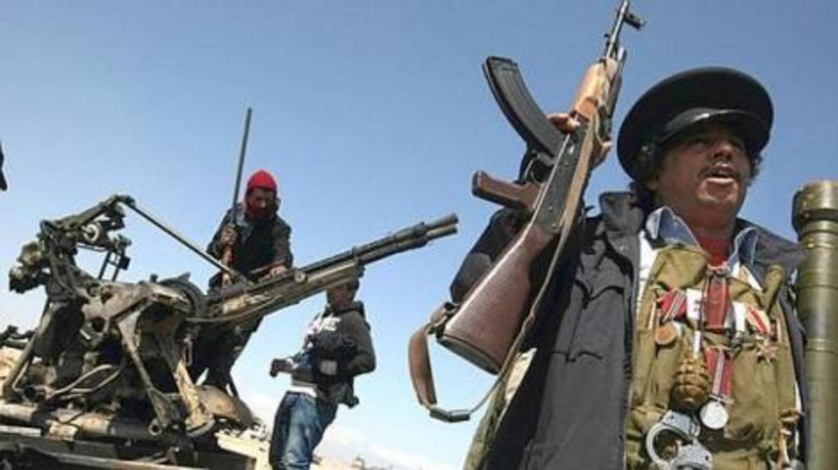 Λιβύη: «Παραδώστε το όπλο σας και πάρτε…μια τηλεόραση»!!! | Newsit.gr