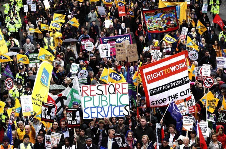 Η μαζικότερη απεργία από την εποχή Θάτσερ | Newsit.gr