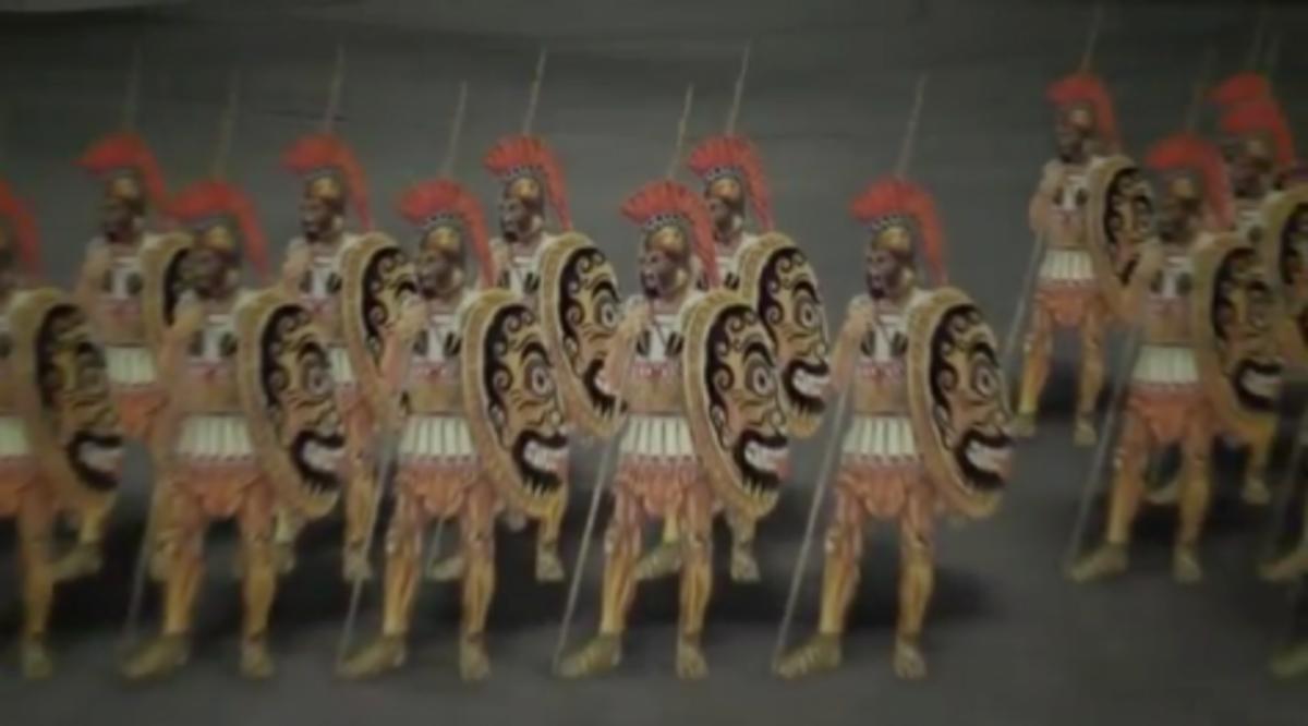 Μάχες που έγραψαν την ιστορία.Μαραθώνας 490 π.Χ.Δείτε τη μάχη σε ψηφιακή αναπαράσταση | Newsit.gr
