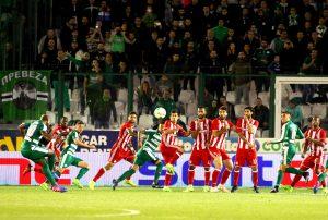 """Παναθηναϊκός – Ολυμπιακός 1-0 ΤΕΛΙΚΟ """"Πράσινη"""" κυριαρχία στο ντέρμπι """"αιωνίων"""""""