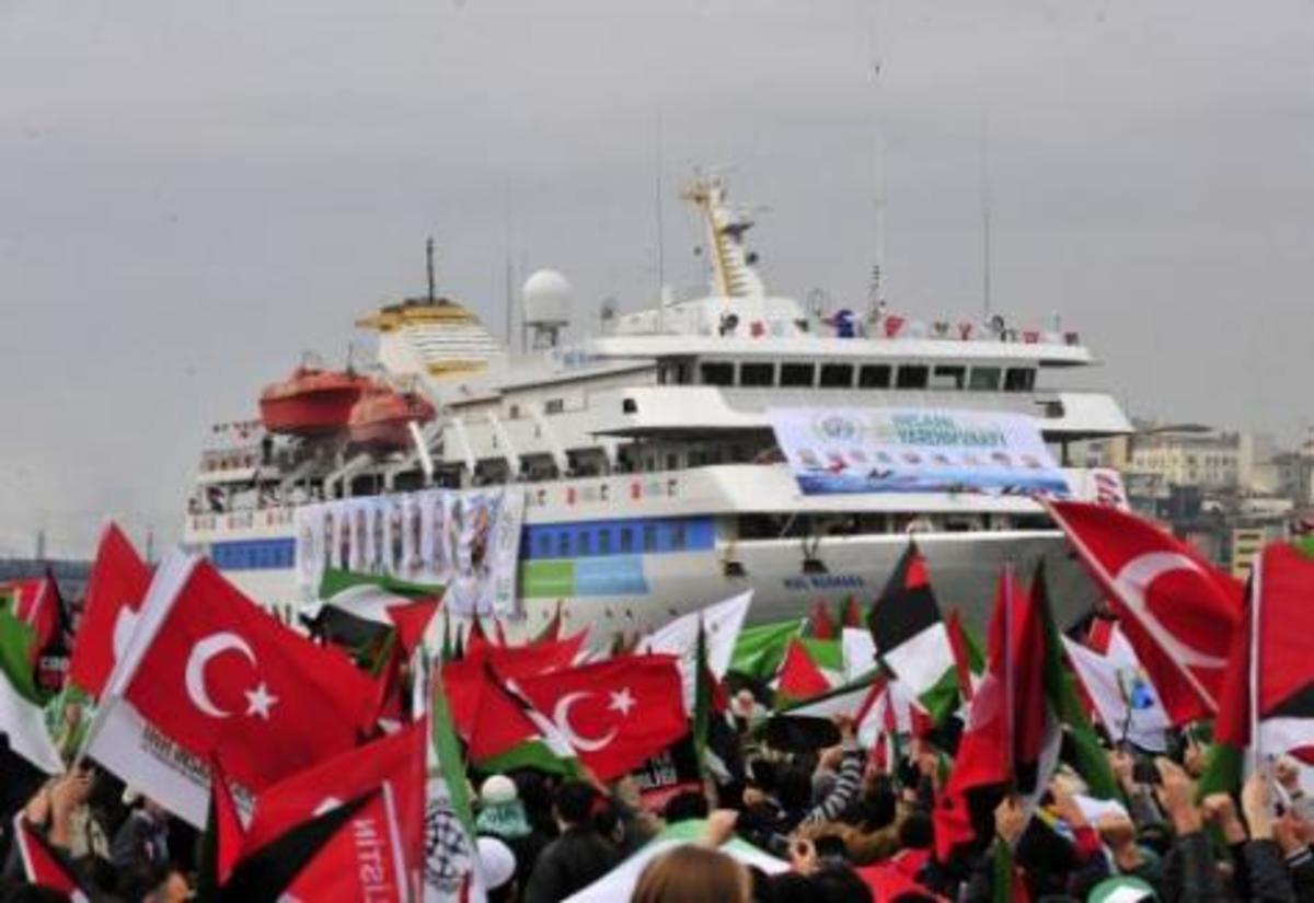 Τουρκικά πλοία ξεκίνησαν για Γάζα – Φόβοι για νέο επεισόδιο | Newsit.gr