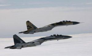 Ρωσία: Αερομαχίες Su-35 και MiG-31 πάνω από την Καρέλια [vid]