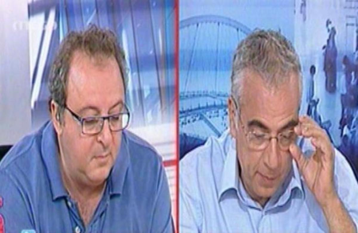 Ο Γιώργος Οικονομέας παρήγγειλε ζωντανά στον αέρα μπριζόλες για τον Δημήτρη Καμπουράκη! | Newsit.gr