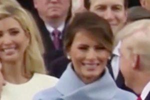 Μελάνια Τραμπ: Να γιατί πάγωσε το χαμόγελο στα χείλη της! [vid]