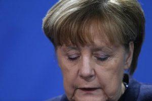 Συλλυπητήρια Ευρωπαίων ηγετών στη Μέρκελ