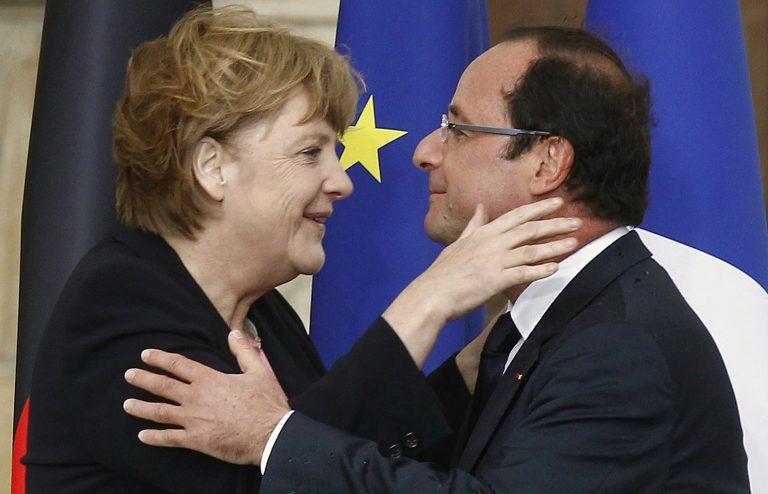 Μέρκελ και Ολαντ σε «τρυφερές στιγμές» – Τι γιορτάζουν; | Newsit.gr