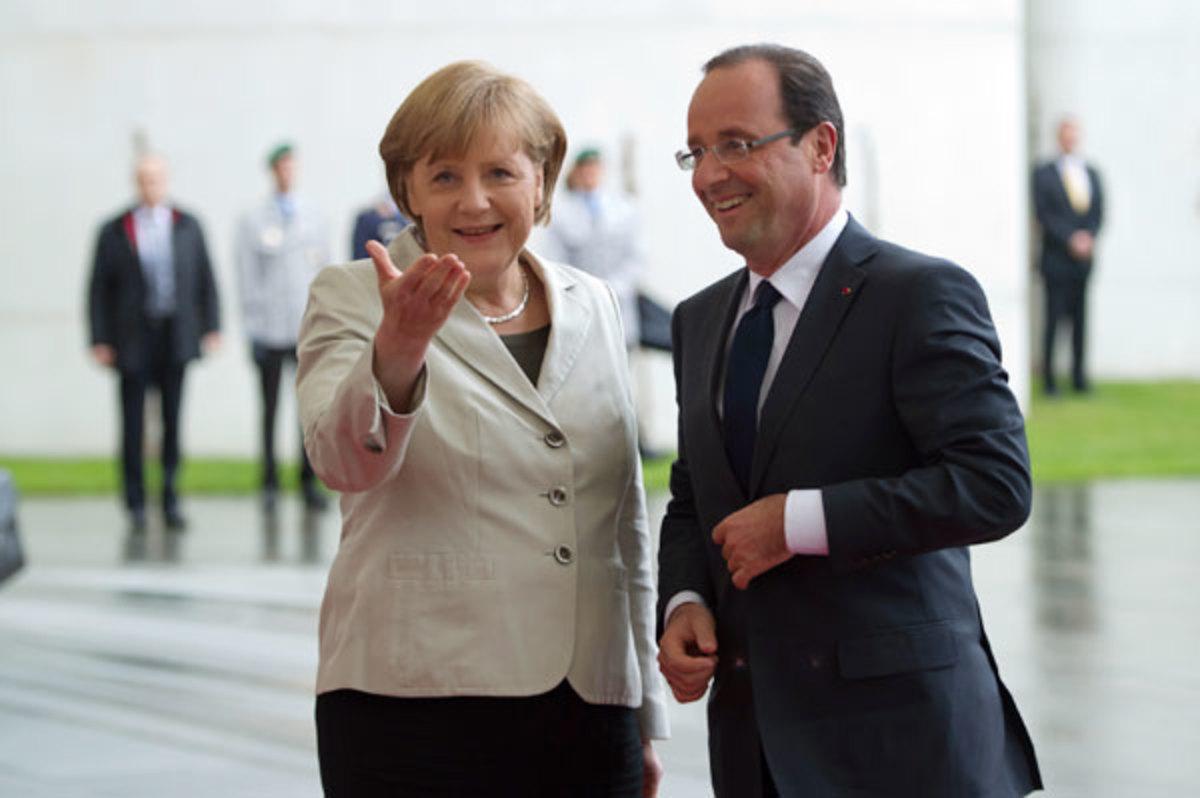 Συνάντηση Μέρκελ – Ολάντ λίγο πριν δουν τον Σαμαρά | Newsit.gr