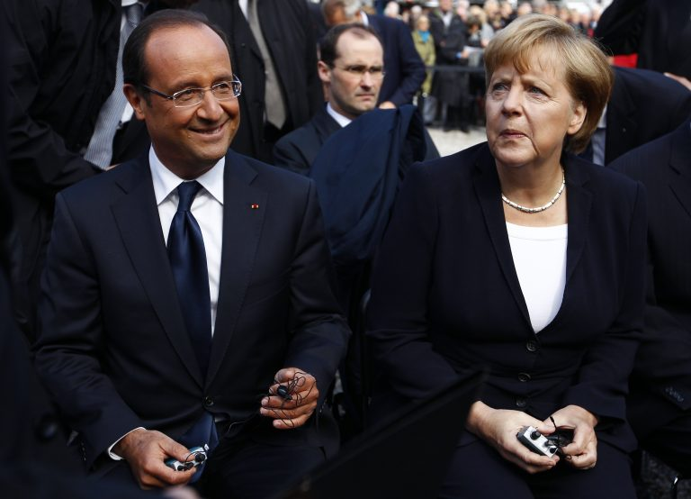 Συνάντηση Ολάντ-Μέρκελ πριν από την έναρξη της συνόδου κορυφής | Newsit.gr