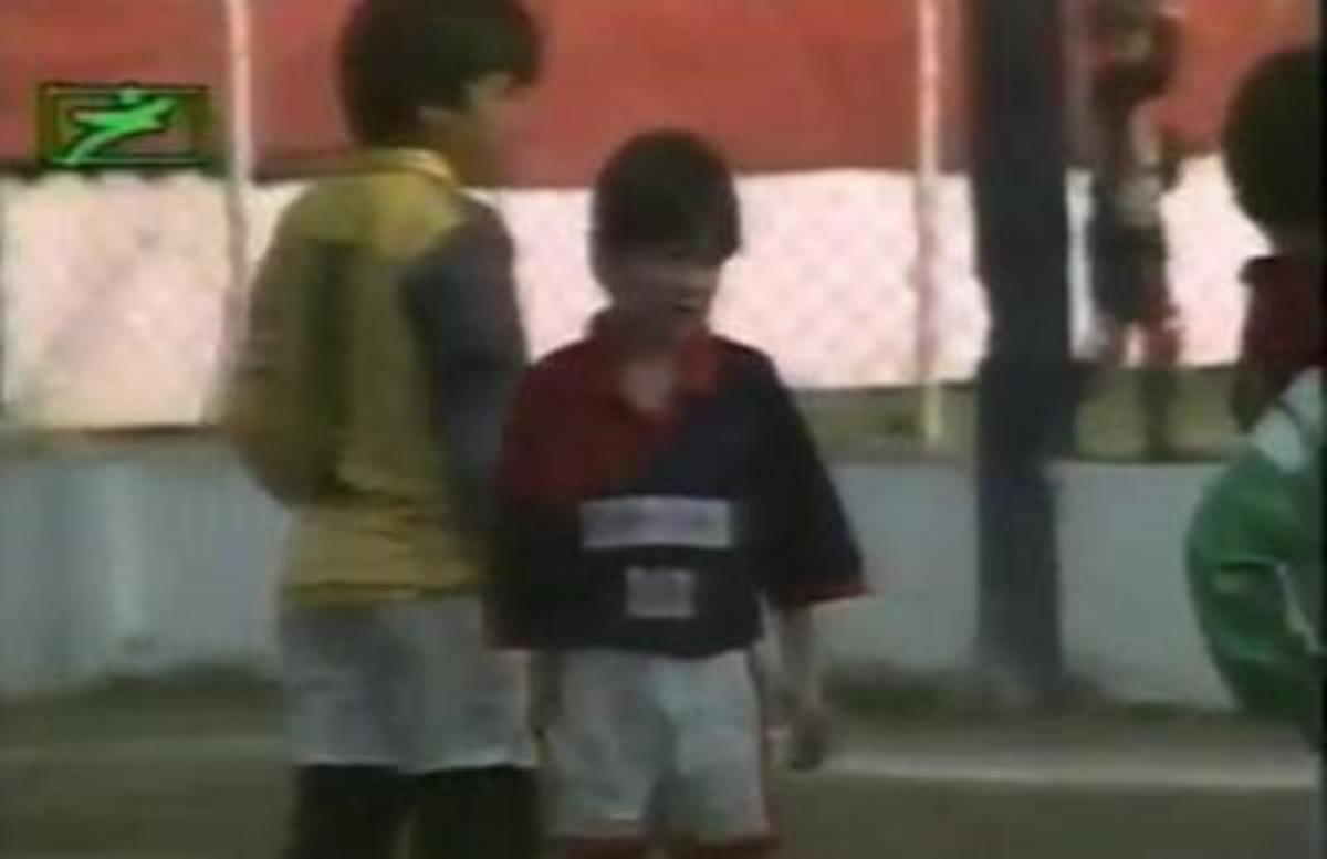 Ο Μέσι σε ηλικία 8 ετών – Δείτε το βίντεο   Newsit.gr
