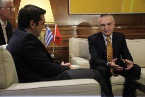 Πρόεδρος βουλής Αλβανίας: Μας συμφέρει μια ισχυρή Ελλάδα