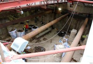 Εργατικό ατύχημα στο Μετρό Θεσσαλονίκης – Έπεσε από ύψος 4 μέτρων!