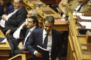 Μητσοτάκης: Ο Τσίπρας στήνει νέα διαπλοκή