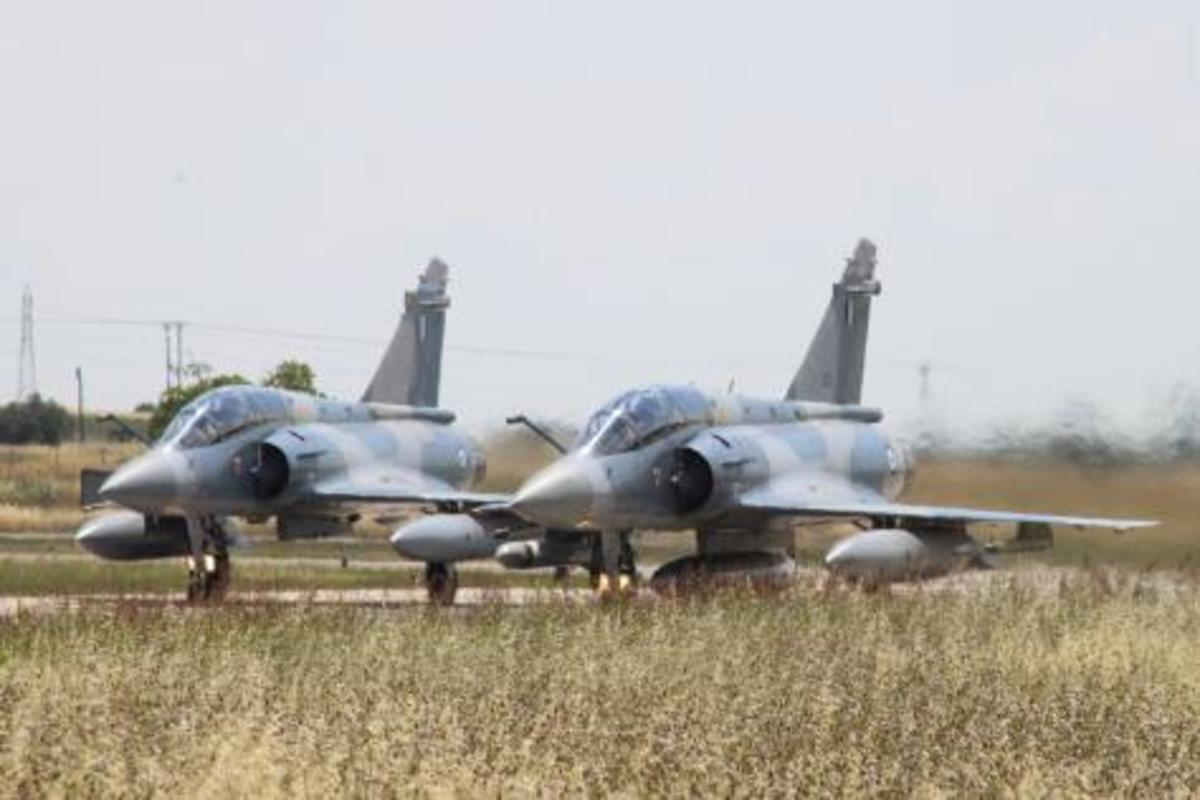 Μήνυμα Φράγκου από το ορμητήριο των Mirage 2000.»Σιωπηλή αλλά ισχυρή δύναμη η ΠΑ'   Newsit.gr